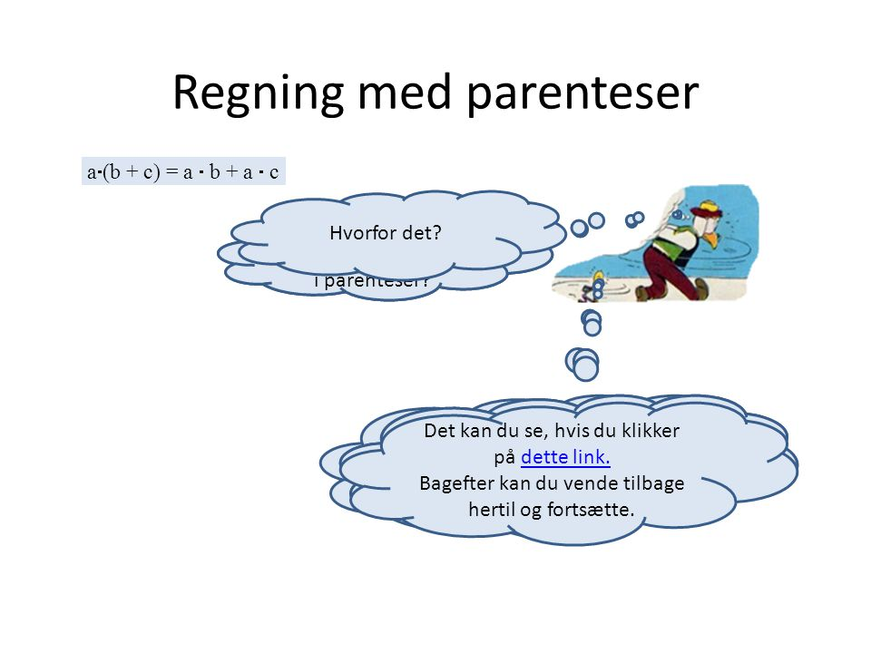 Regning med parenteser
