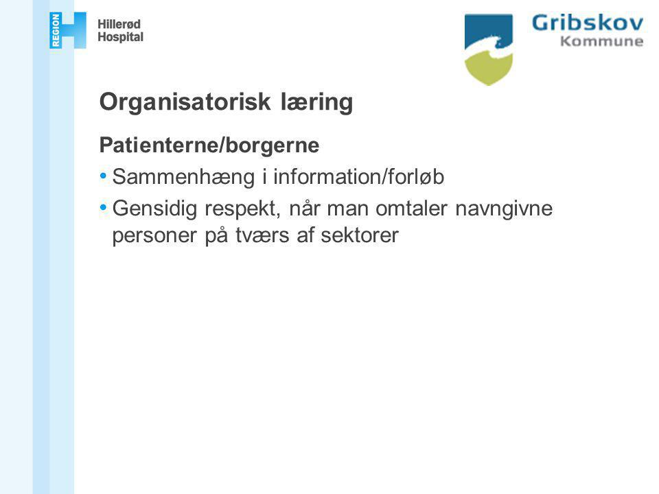 Organisatorisk læring