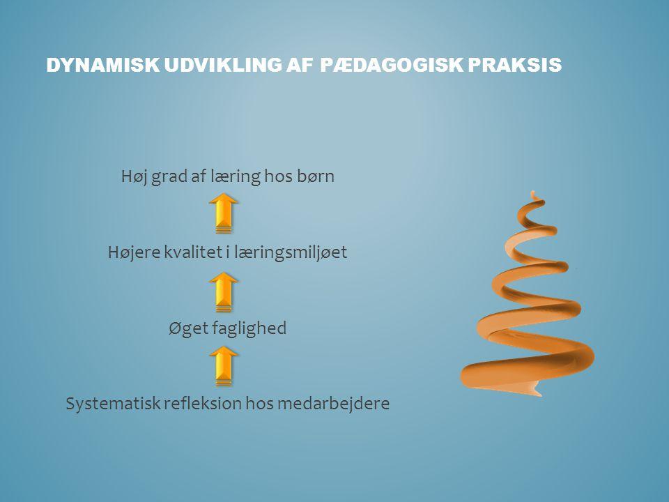 Dynamisk udvikling af pædagogisk praksis