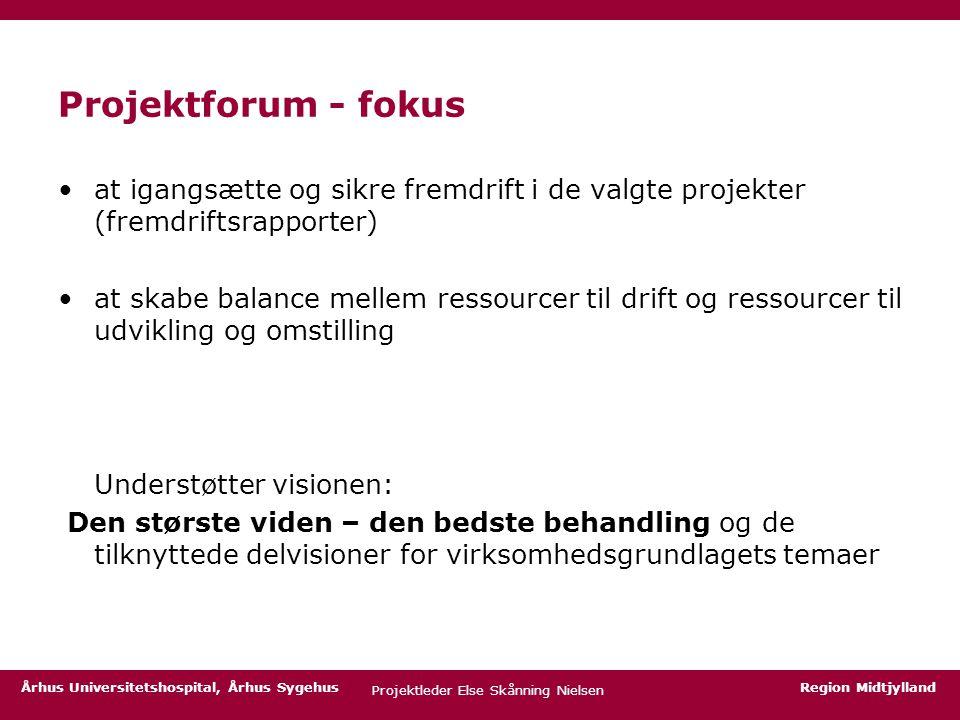 Projektleder Else Skånning Nielsen