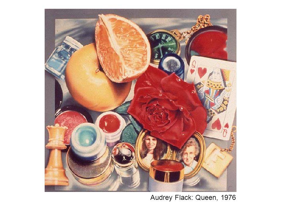 Audrey Flack: Queen, 1976