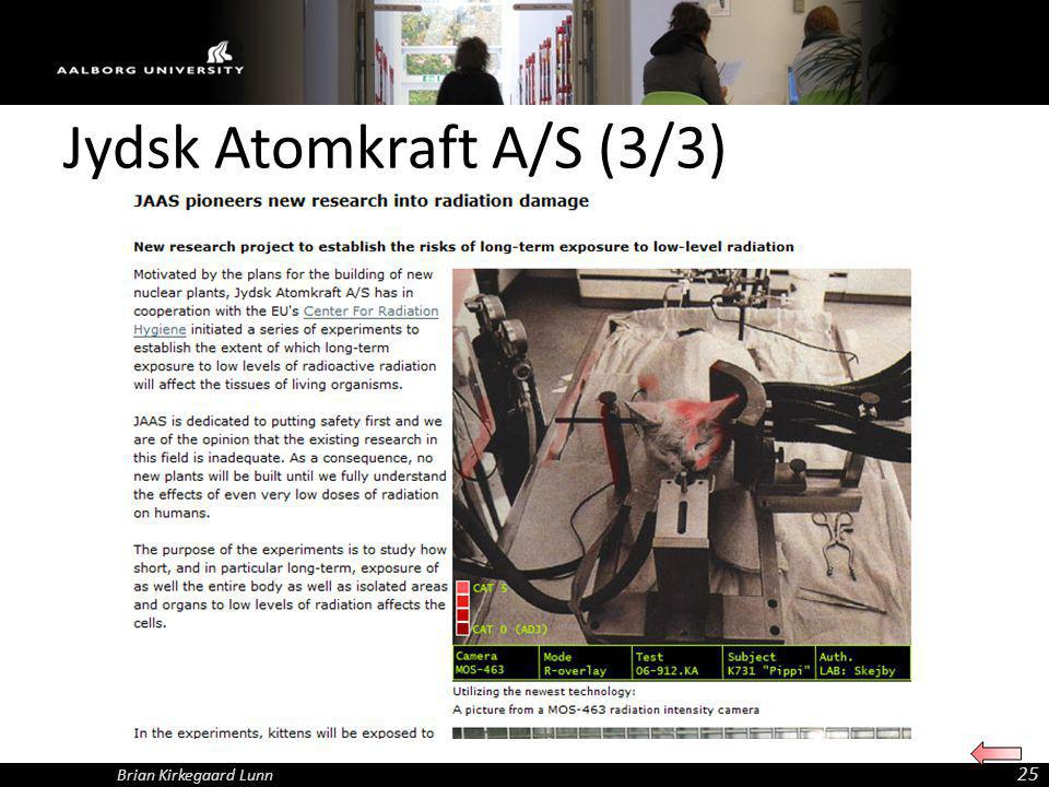 Jydsk Atomkraft A/S (3/3)