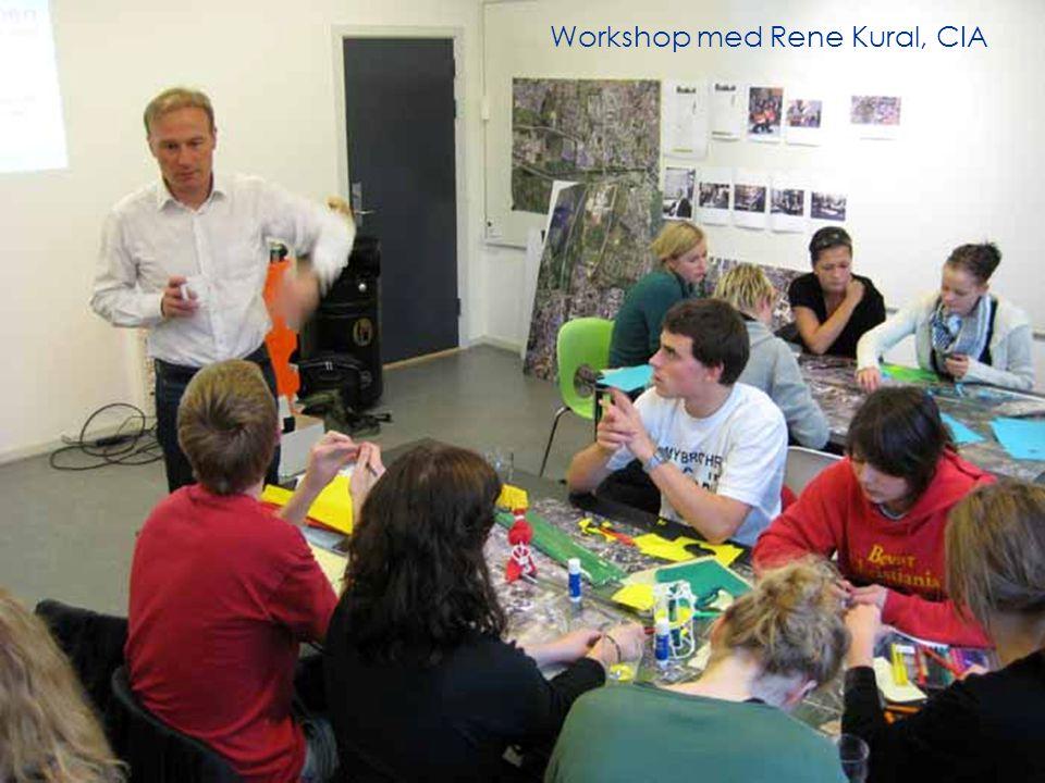 Workshop med Rene Kural, CIA