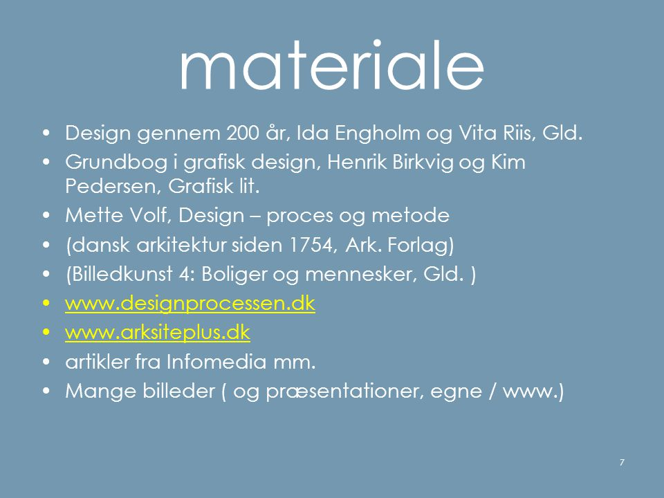 materiale Design gennem 200 år, Ida Engholm og Vita Riis, Gld.