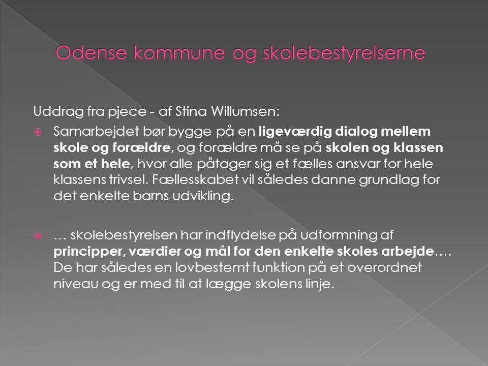 Odense kommune og skolebestyrelserne