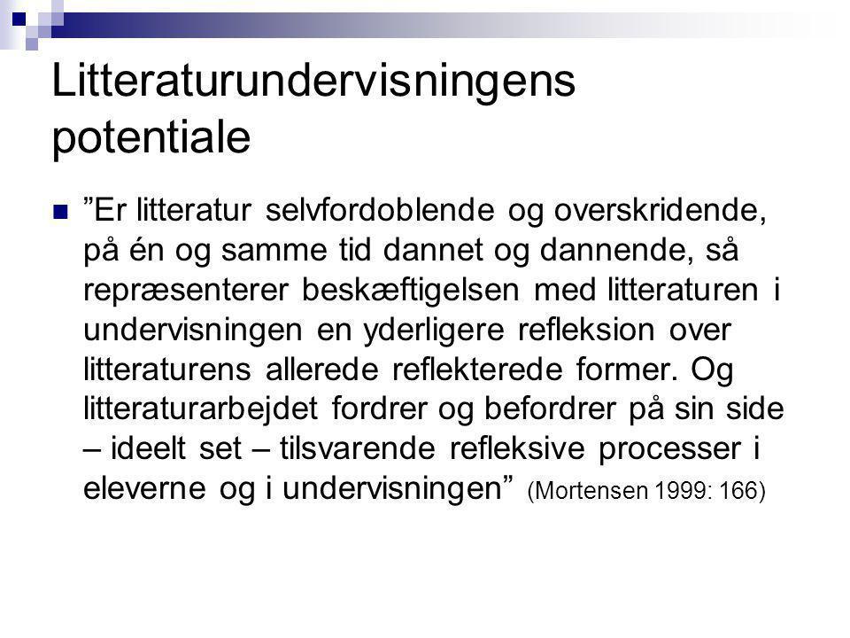Litteraturundervisningens potentiale