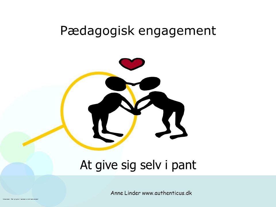 Pædagogisk engagement