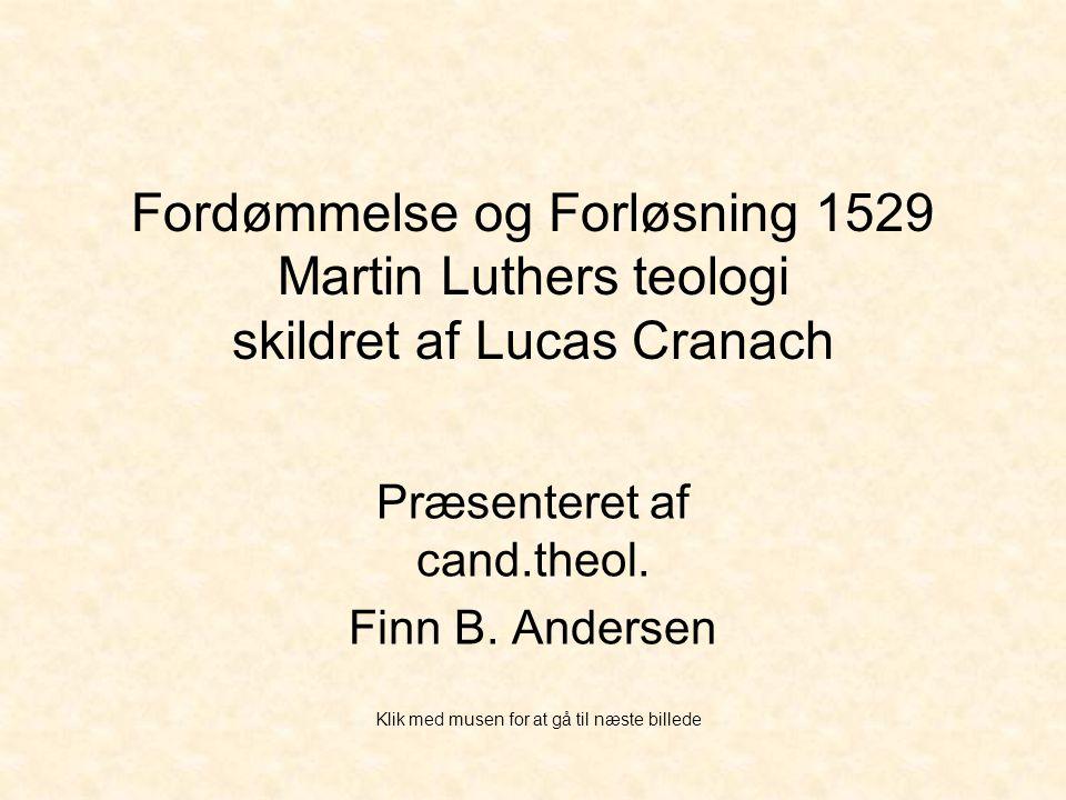 Præsenteret af cand.theol. Finn B. Andersen