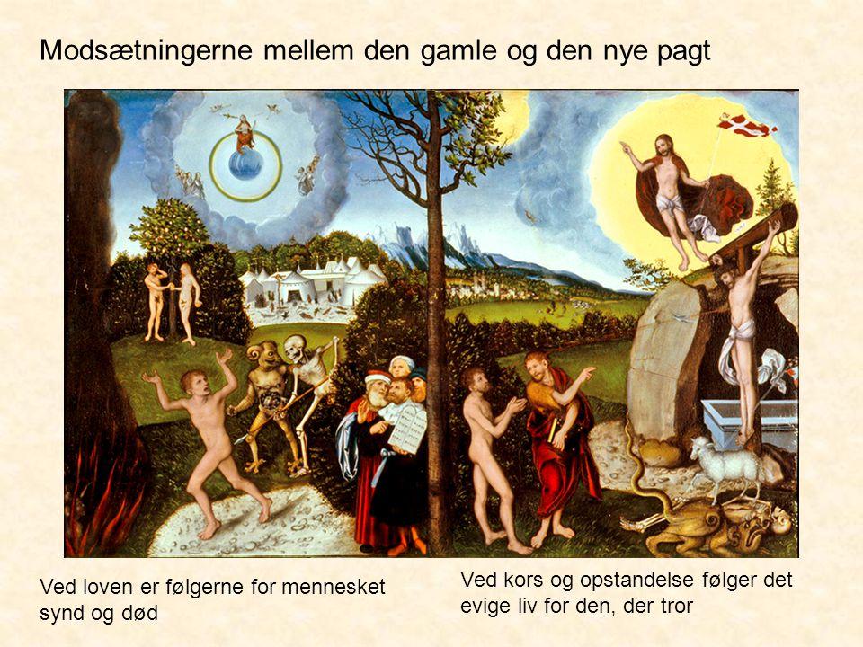 Modsætningerne mellem den gamle og den nye pagt