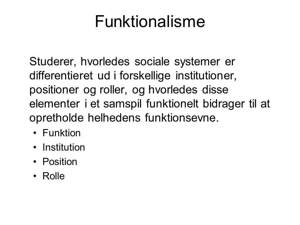 Funktionalisme