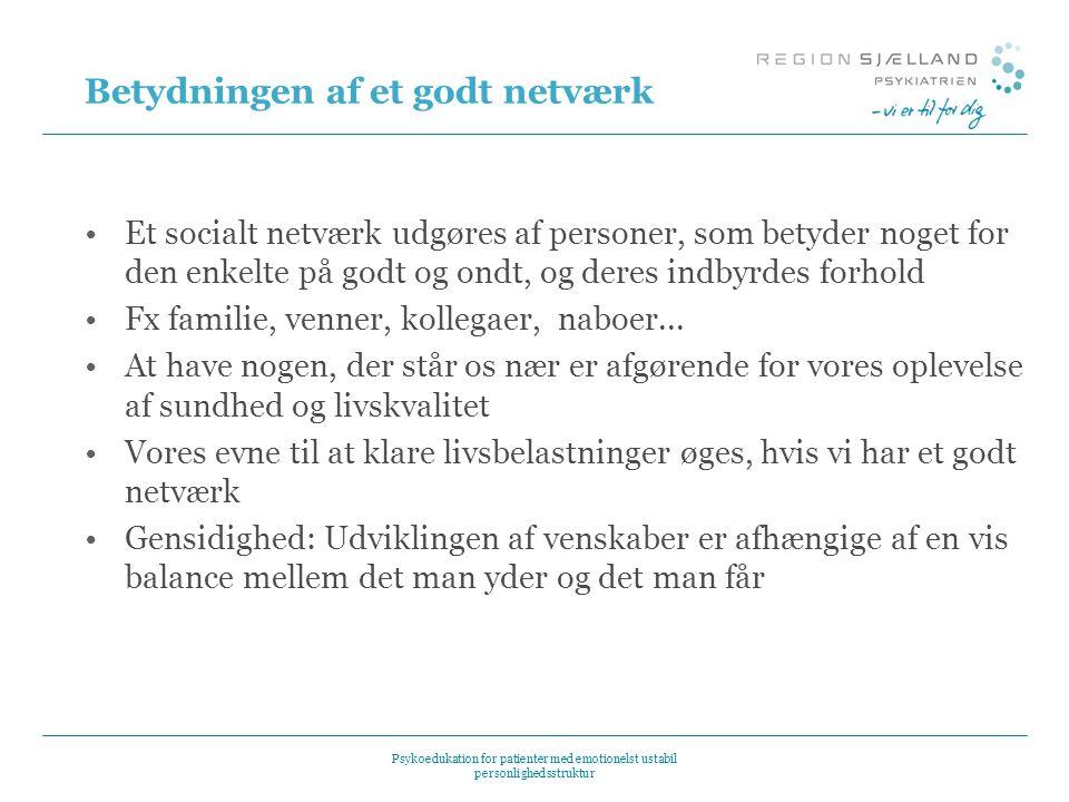 Betydningen af et godt netværk