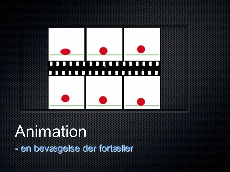 Animation - en bevægelse der fortæller