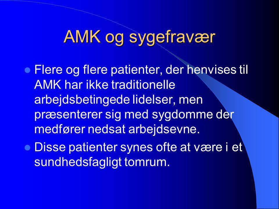 AMK og sygefravær