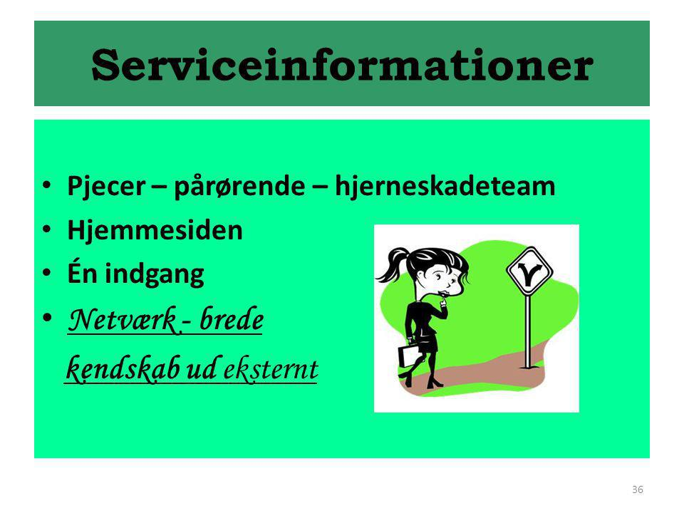 Serviceinformationer