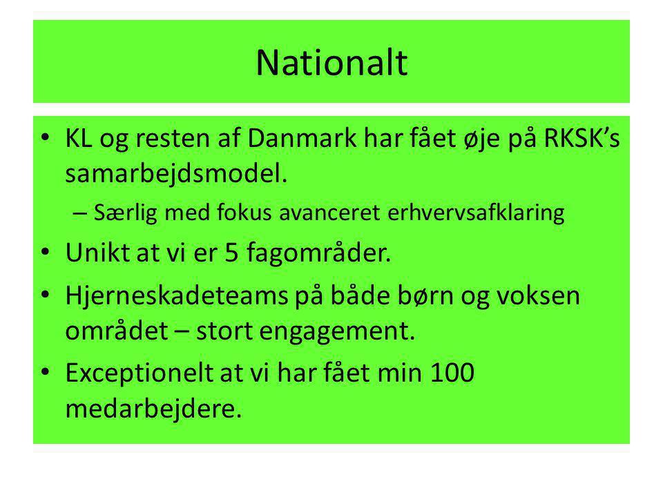 Nationalt KL og resten af Danmark har fået øje på RKSK's samarbejdsmodel. Særlig med fokus avanceret erhvervsafklaring.