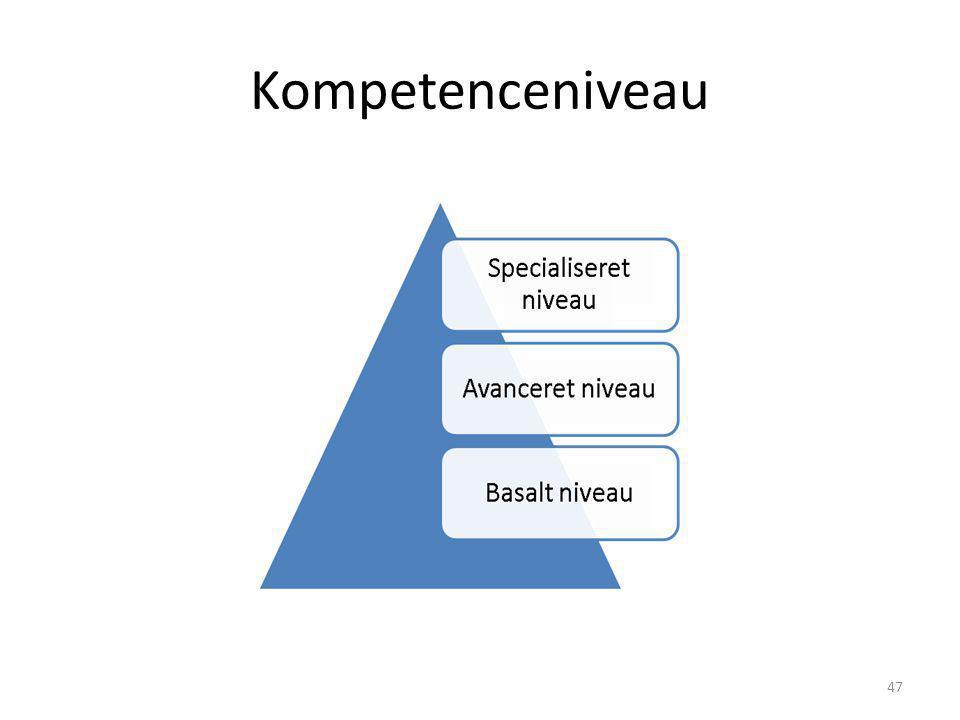 Kompetenceniveau 47