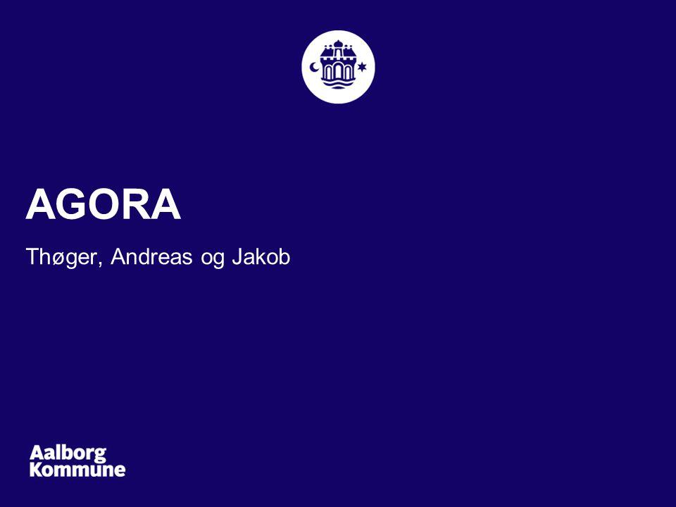 Thøger, Andreas og Jakob