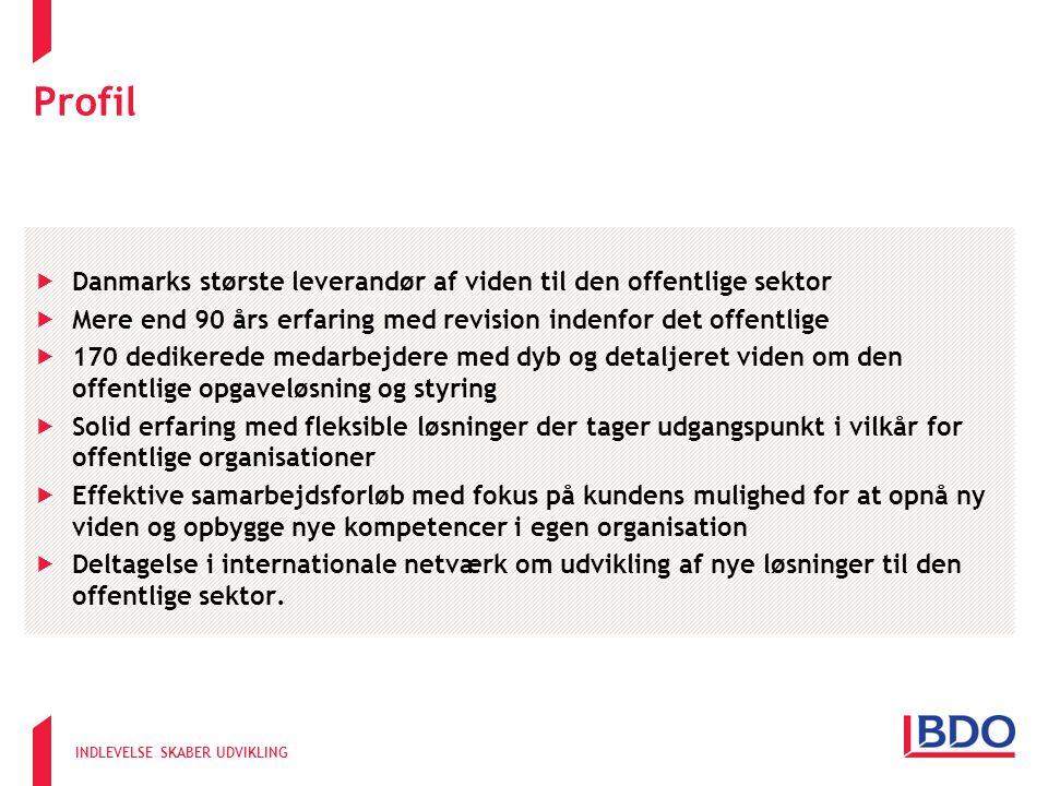 Profil Danmarks største leverandør af viden til den offentlige sektor