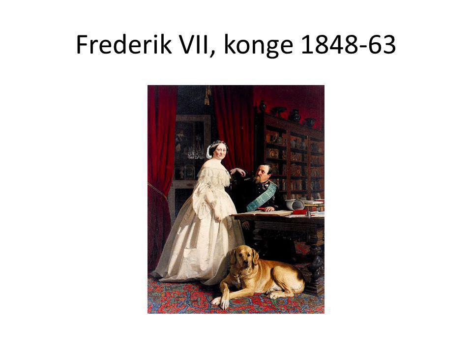 Frederik VII, konge 1848-63