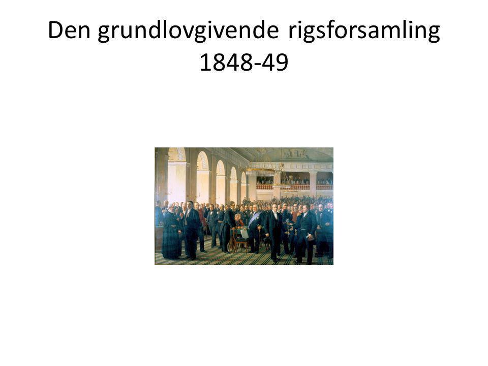 Den grundlovgivende rigsforsamling 1848-49
