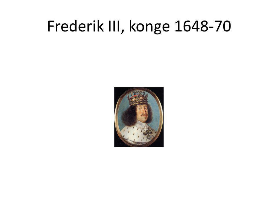 Frederik III, konge 1648-70