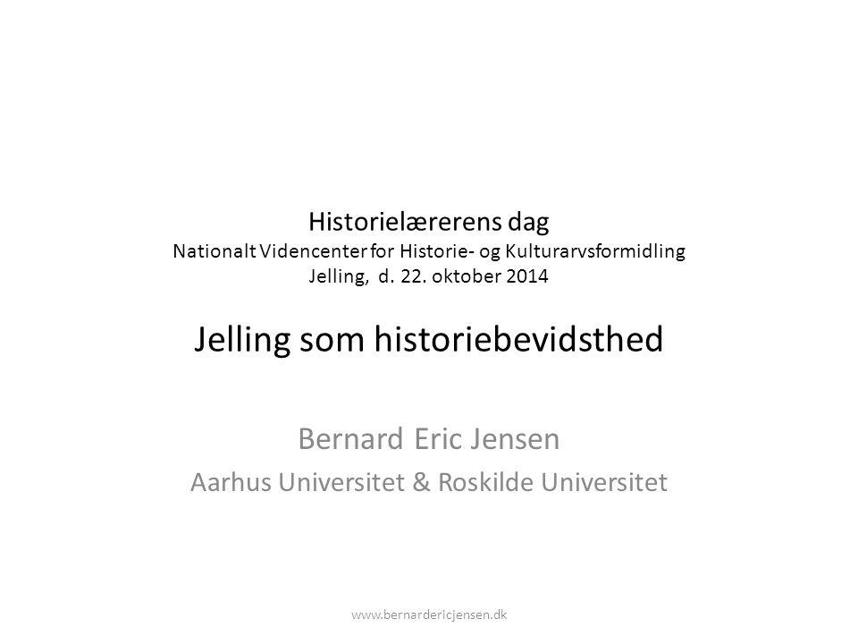 Bernard Eric Jensen Aarhus Universitet & Roskilde Universitet