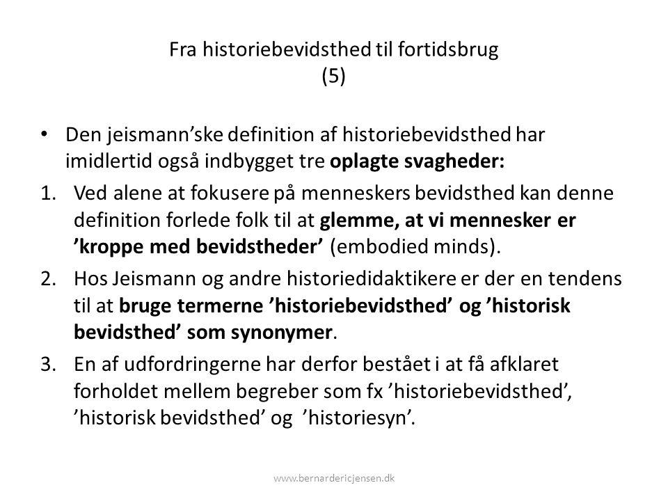 Fra historiebevidsthed til fortidsbrug (5)