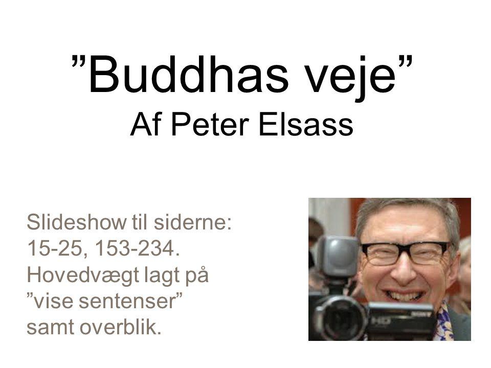 Buddhas veje Af Peter Elsass