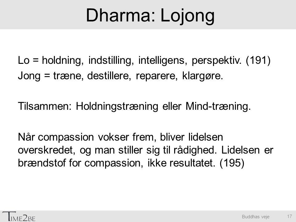 Dharma: Lojong
