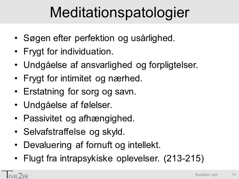 Meditationspatologier