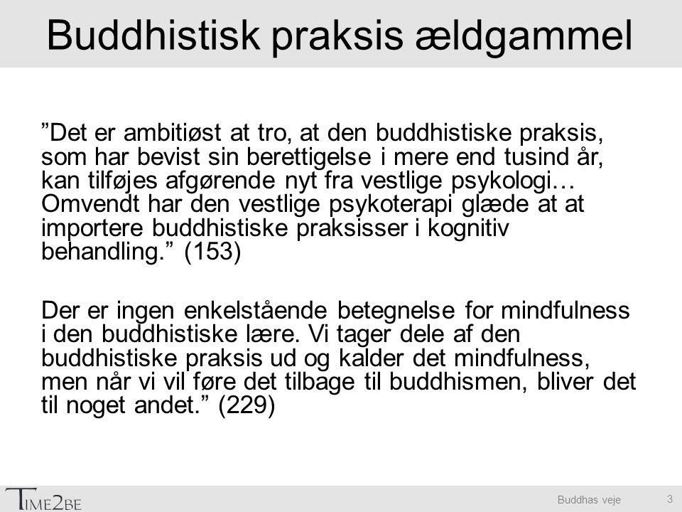 Buddhistisk praksis ældgammel