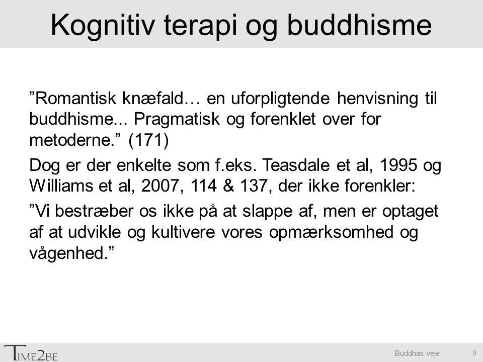 Kognitiv terapi og buddhisme