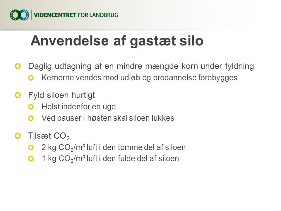 Den optimale tørring og lagring af korn - ppt video online download