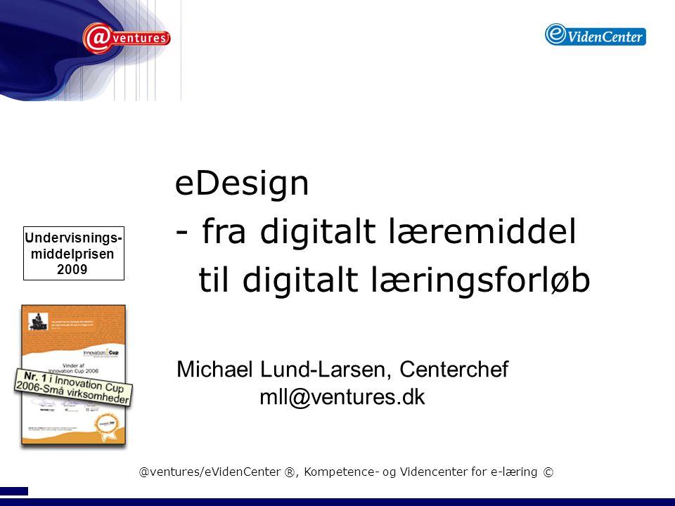 - fra digitalt læremiddel til digitalt læringsforløb