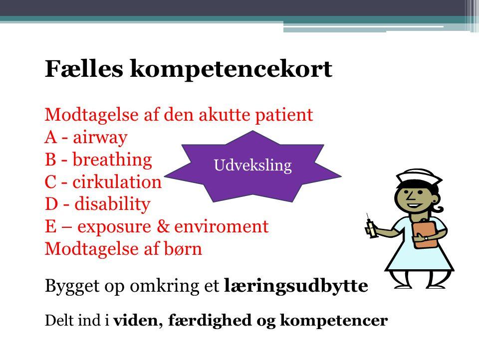 Fælles kompetencekort