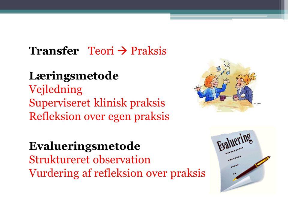 Transfer Teori  Praksis