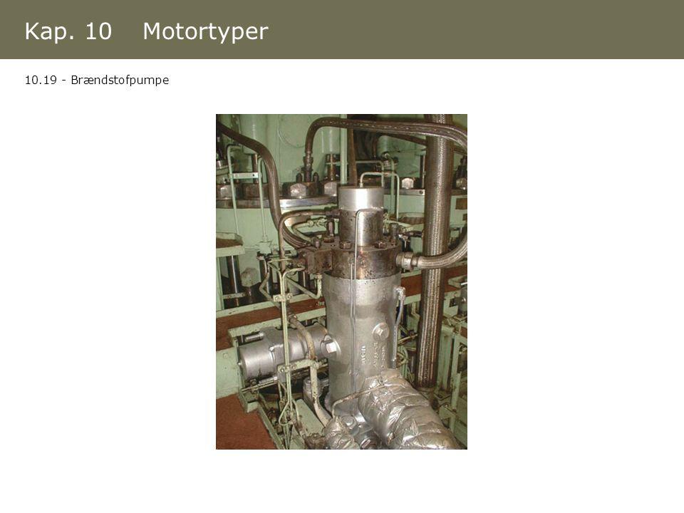 Kap. 10 Motortyper 10.19 - Brændstofpumpe