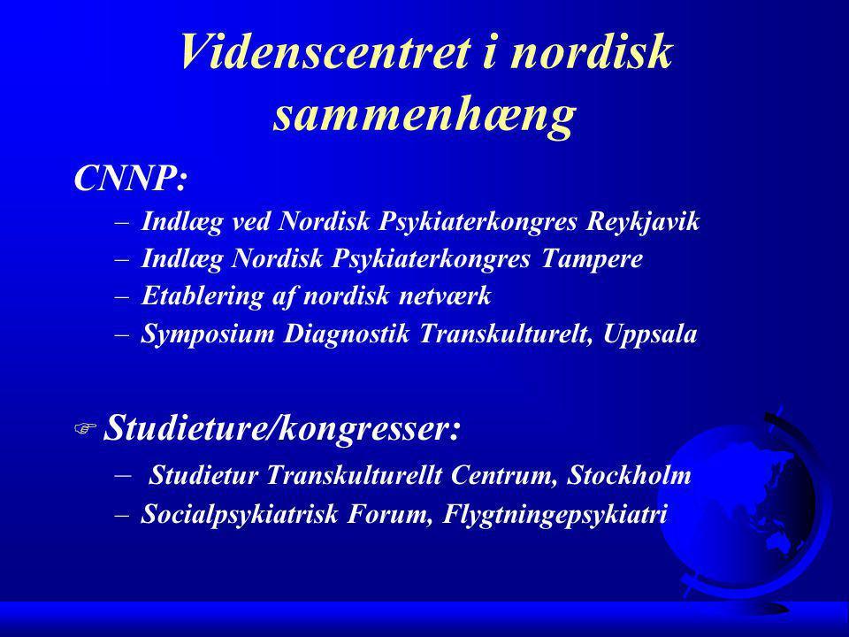Videnscentret i nordisk sammenhæng