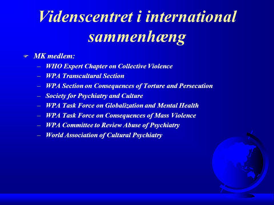 Videnscentret i international sammenhæng