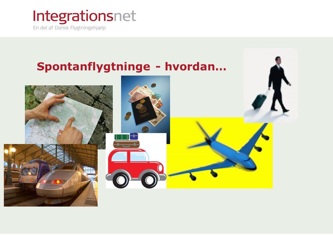 Spontanflygtninge - hvordan…