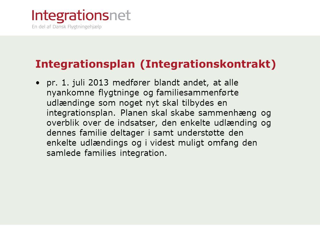 Integrationsplan (Integrationskontrakt)