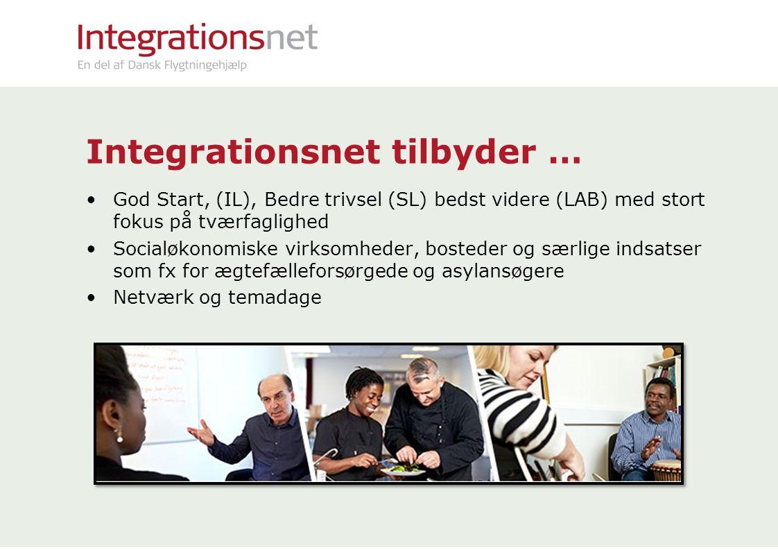 Integrationsnet tilbyder …