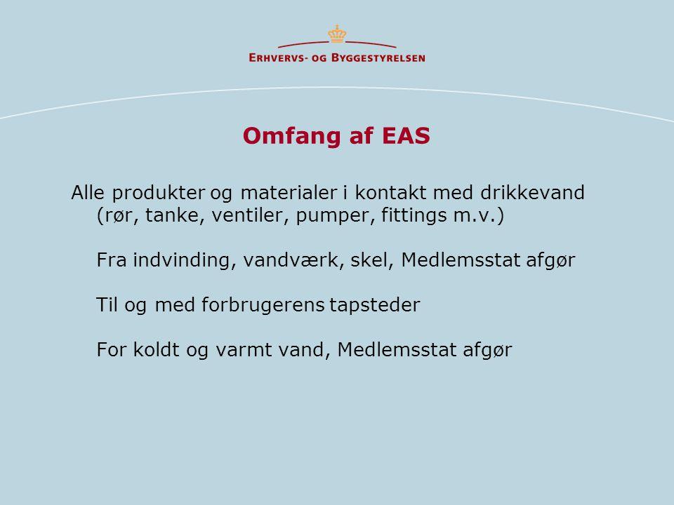 Omfang af EAS