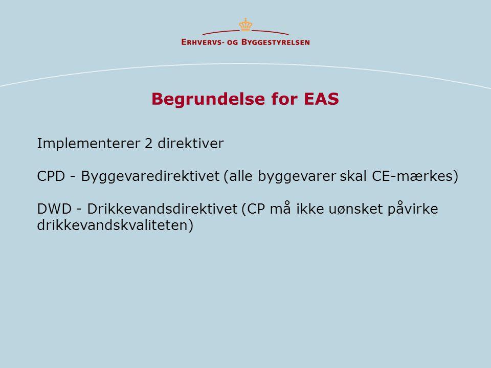 Begrundelse for EAS