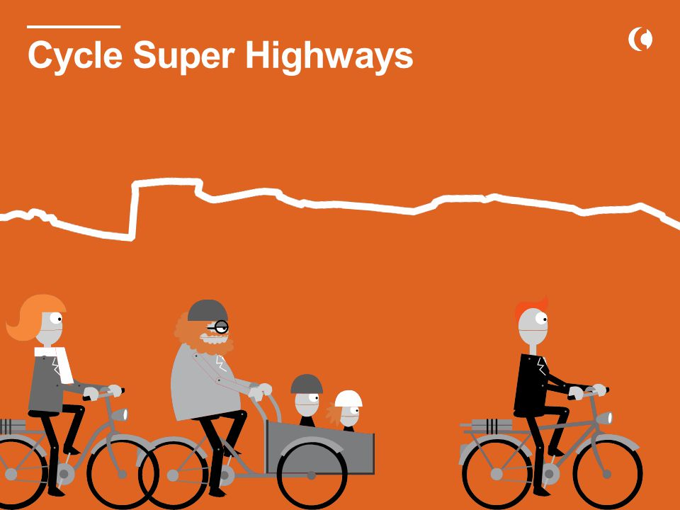 Cycle Super Highways in the Greater Copenhagen Area Cycle Super Highways
