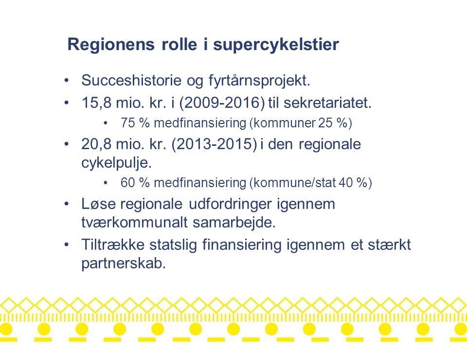 Regionens rolle i supercykelstier