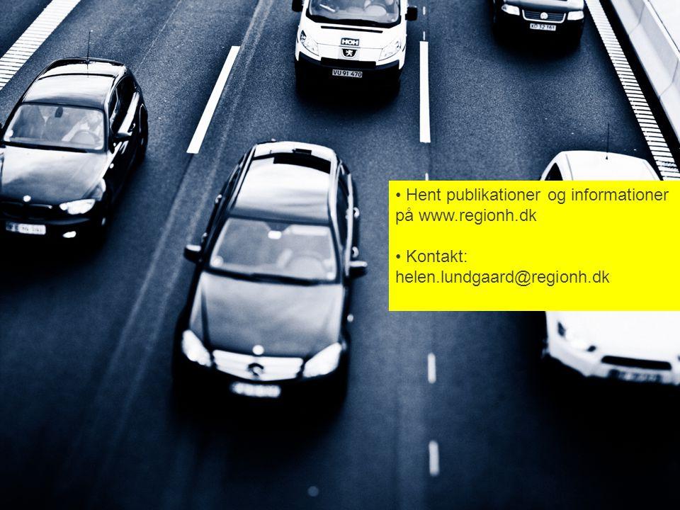 Hent publikationer og informationer på www.regionh.dk