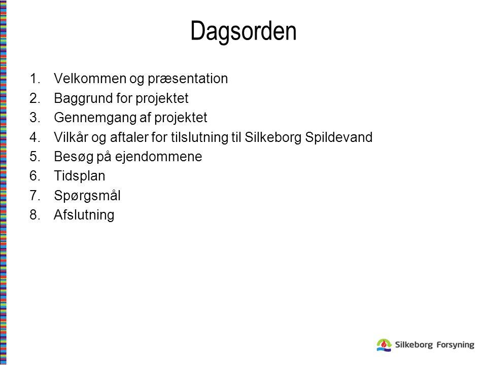Dagsorden Velkommen og præsentation Baggrund for projektet