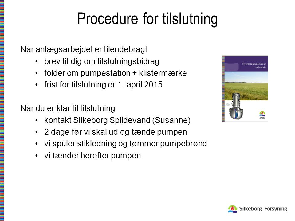 Procedure for tilslutning
