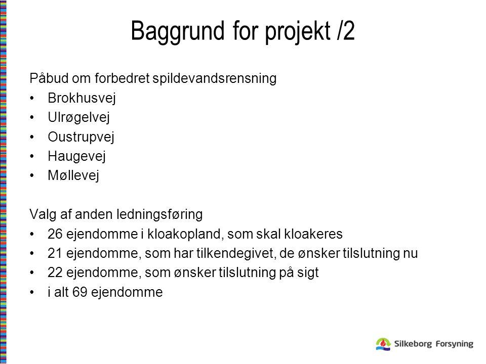 Baggrund for projekt /2 Påbud om forbedret spildevandsrensning